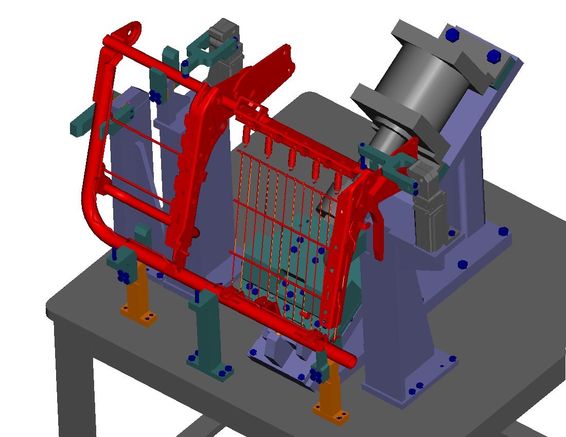 Assembly-mat-fixture